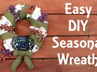 Easy DIY Wreath Made with Old Book Pages! {GIVEAWAY!!!}