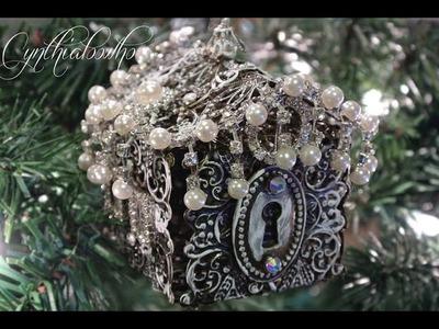 Filigree Gingerbread House Ornament!