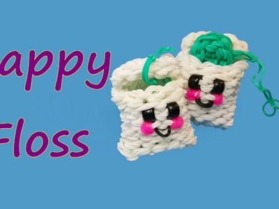 Happy Floss Tutorial by feelinspiffy Rainbow Loom
