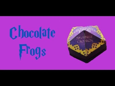 Harry Potter Recipes: Chocolate Frogs