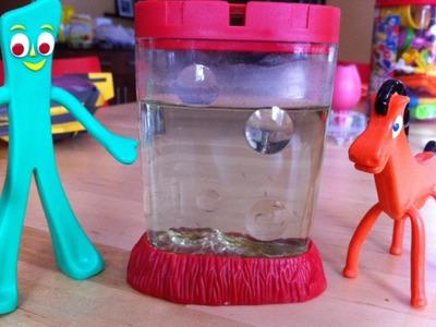 Home Made aquarium Air Pump for Sea Monkeys. ( Update )