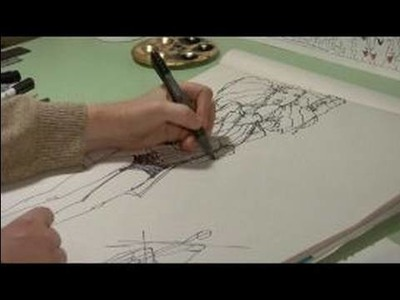 How to Begin in Fashion Illustration : Drawing Accessories in Fashion Illustration