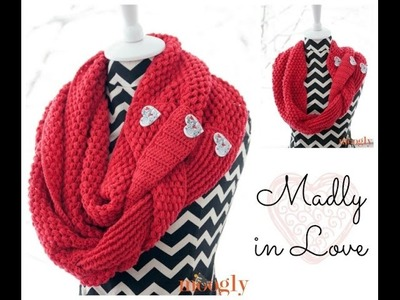 How to Crochet: Madly in Love Part 1 (Left Handed)