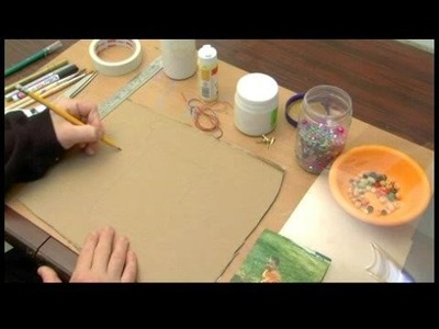 How to Make a Personalized Picture Frame : Drawing Shape of Picture Frame