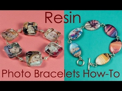 How To Make a Resin Photo Bracelet