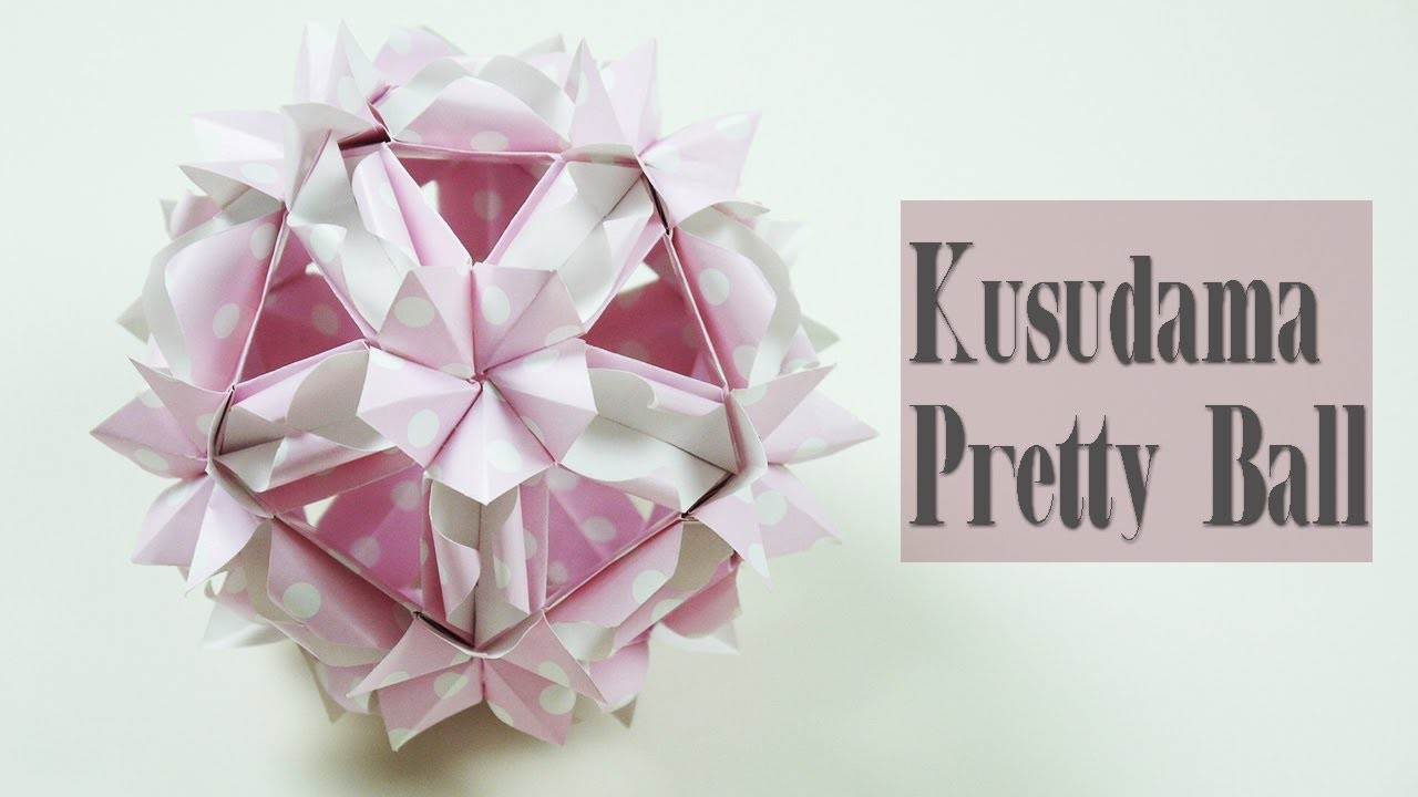 Kusudama Pretty Ball By Anzhelika Pas'ko | Nekkoart