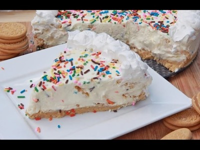 No-Bake Cake Batter Cheesecake Recipe