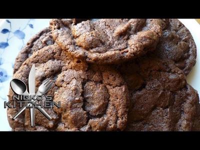 NUTELLA COOKIES (3 Ingredients) - Nicko's Kitchen