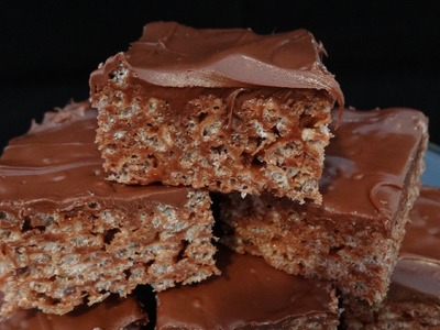 Nutella Rice Krispies Squares - with yoyomax12