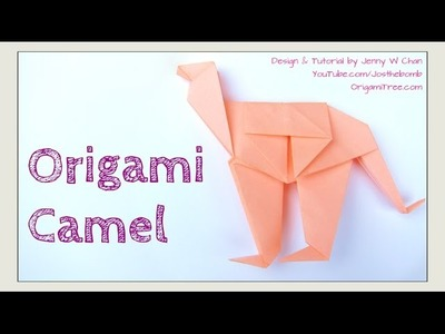 Origami Camel - How to Fold Origami Camel - Paper Camel - Paper Crafts