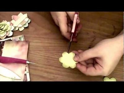 Origami Rose Flower Tutorial