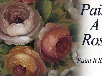 Painting a Simple Rose Box