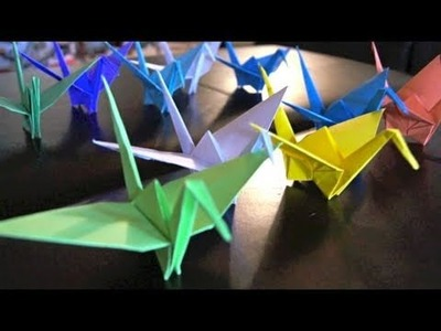 Paper Cranes for Japan! (+Update)
