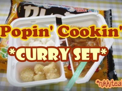 Popin' Cookin' Curry: Japanese DIY Candy Kit!