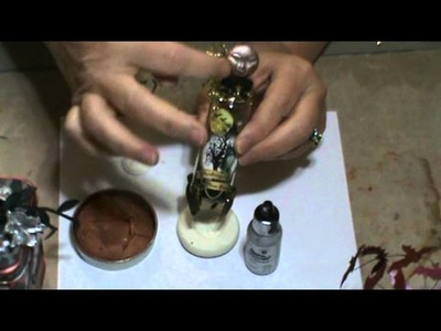 Pretty Potions & Poisons Apothecary Event Tutorial #2 - Altering Bottles (Part Two of Two)