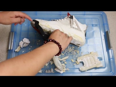 Sole Swap Series - Episode 2: How To Remove Crumbling Midsoles Tutorial!