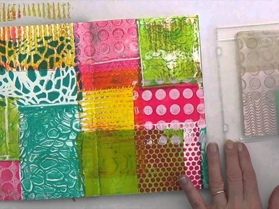 Stamping with Gelli®