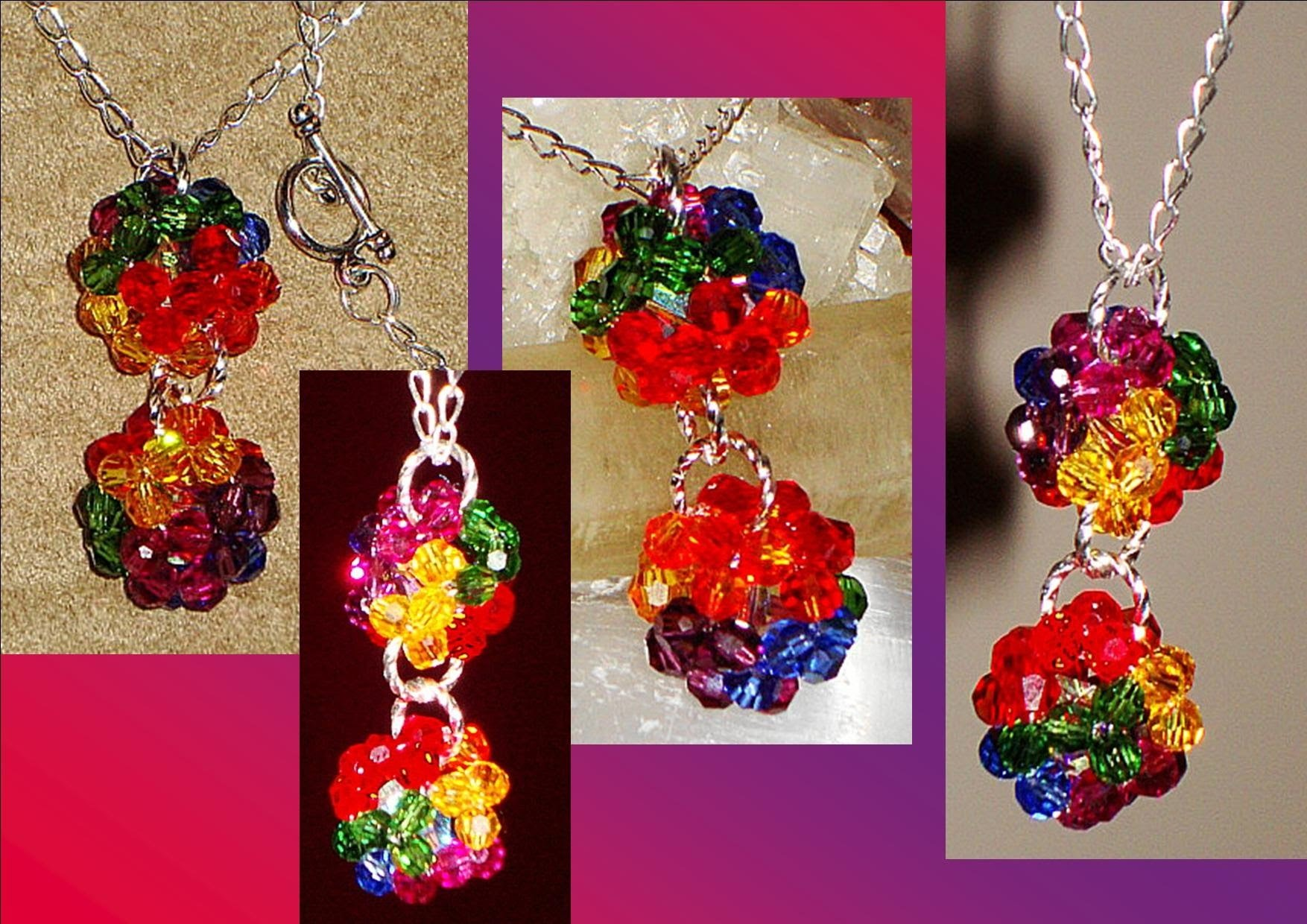 SWAROVSKI CRYSTAL BALL JEWELRY