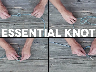 The 4 Knots Every Man Should Know How to Tie
