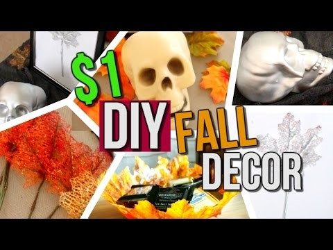 $1 DIY Room Decor for Fall + Halloween | Courtney Lundquist