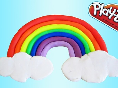 Beautiful Play-Doh Rainbow! | Fun & Easy Play-Doh How To DIY!