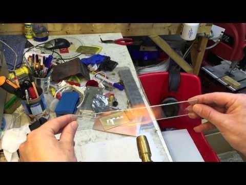 Bending float glass DIY