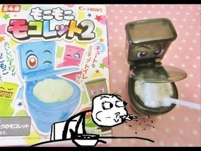 Bevanda in un WC? Moko Moko Mokolet DIY Candy - ITA