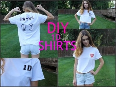 Concert Series #8- DIY 1D T-SHIRTS!!!