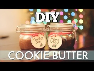 DIY COOKIE BUTTER - Easy Holiday Gift Idea!