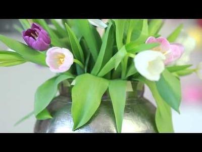 DIY: Creative vase trick - Creativewithlove.com