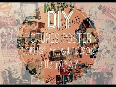 DIY for Louis Tomlinson's birthday | Magicamy's World