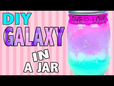 DIY Galaxy in a Jar