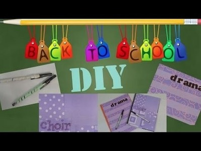 DIY School Supplies   OMMyGoshTV