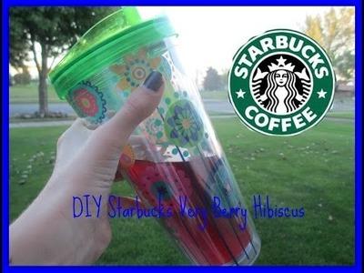 DIY Starbucks Very Berry Hibiscus