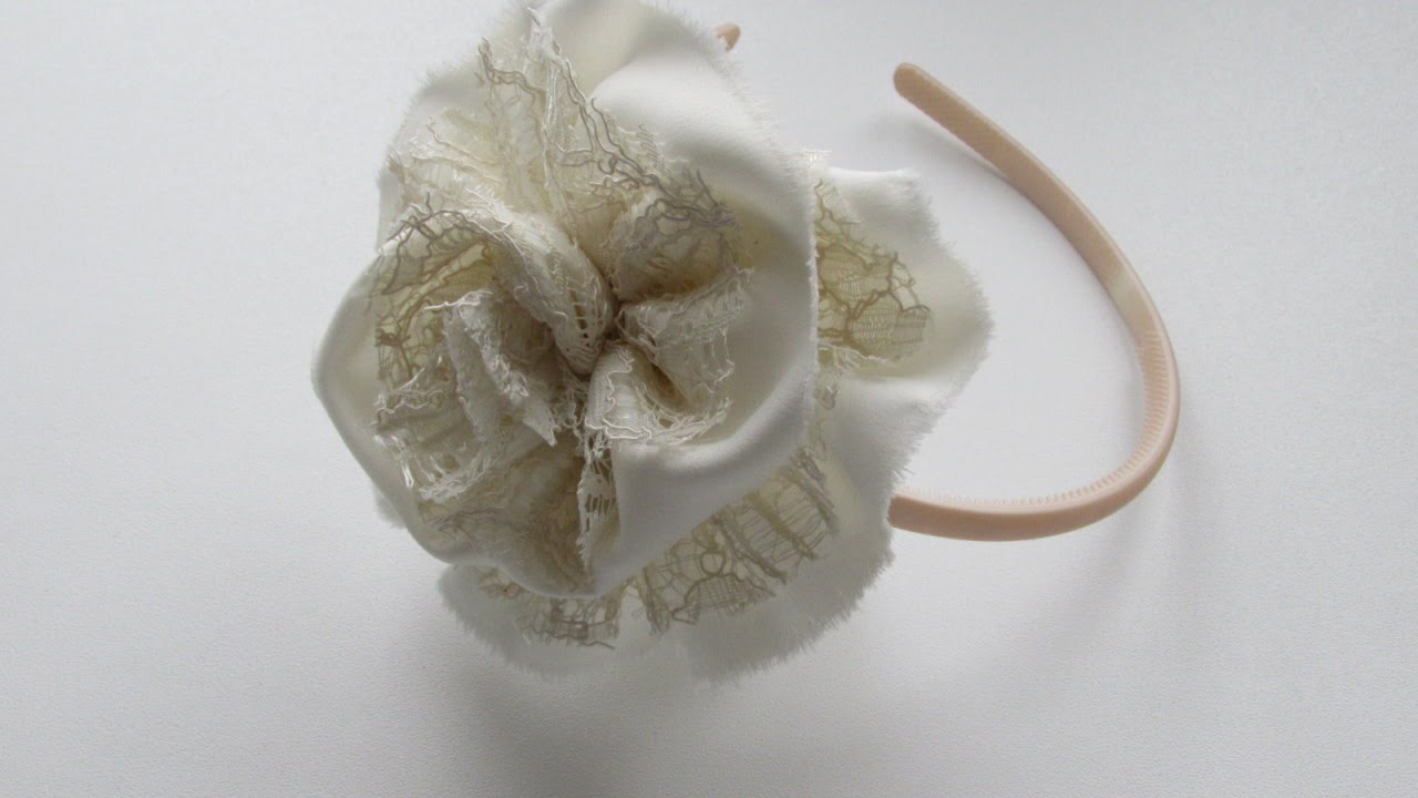 Make an Elegant Lace Headband - DIY Style - Guidecentral