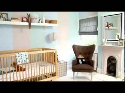 Bedroom Ideas: Create a gender neutral nursery with Dulux
