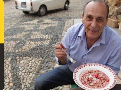Classic Italian Risotto with Strawberry & Balsamic | Gennaro Contaldo