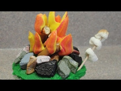 Decorating cupcakes #49:  The Campfire