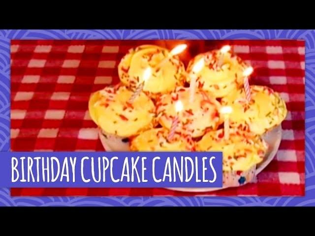 DIY Birthday Cupcake Candles - Throwback Thursday - HGTV Handmade