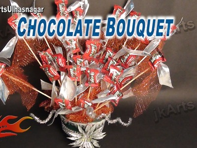 DIY Chocolate Bouquet | How to make | Gift Idea  - JK Arts 621