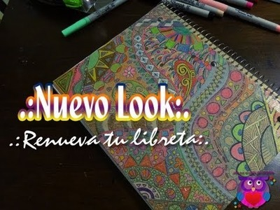 (DIY) Como renovar tu libreta. How to renew your notebook