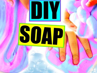 DIY Flubber Soap! Make Squishy Soap!