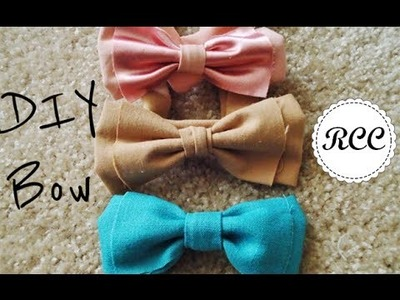 DIY Hair Bow and Bow Belt