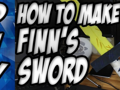 DIY | How to make finn's golden sword from Adventure Time!