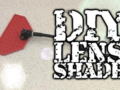 DIY Lens Sun Shade
