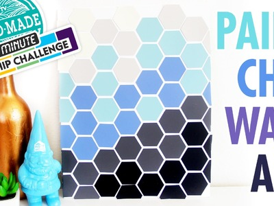 DIY Paint Chip Wall Art - Marianne's 30 Minute Craft Challenge - HGTV Handmade