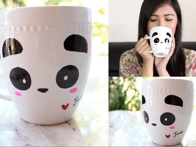 DIY Panda Coffee Mug | Room Decor or Gift Idea