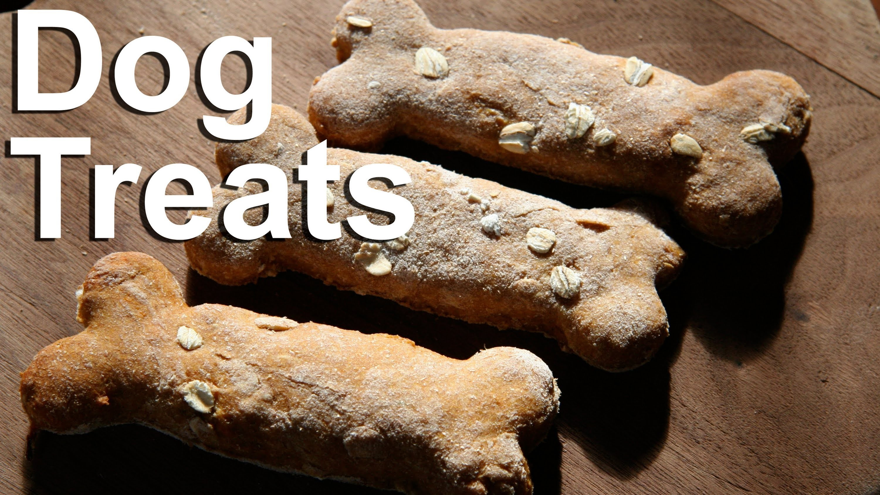 Dog Treats : Sweet Potato Dog Biscuit Recipe : GardenFork.TV