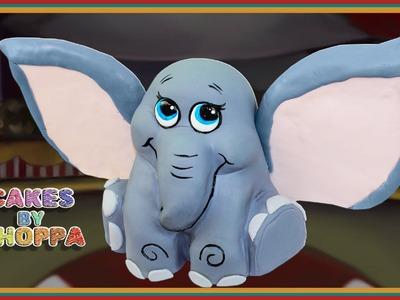 Dumbo inspired Baby Elephant Cake (How To)
