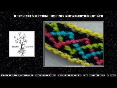 ► Friendship Bracelet Tutorial - Intermediate - Celtic Knot